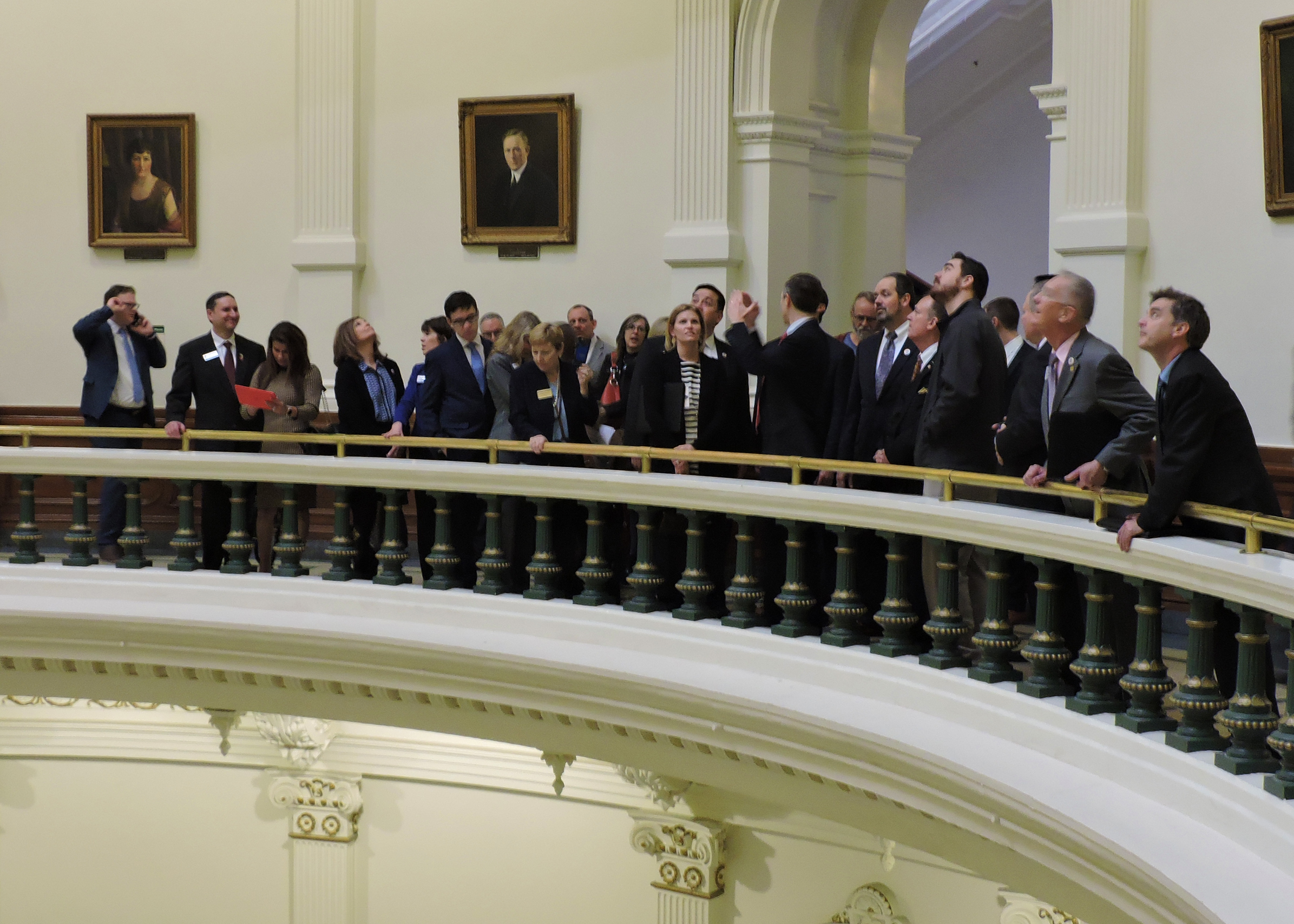Senator Van Taylor explains some of the history behind the Texas Capitol.